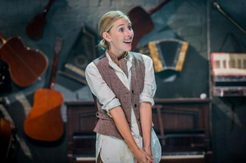 Sally Scott in As You Like It at Southwark Playhouse by Robert Workman