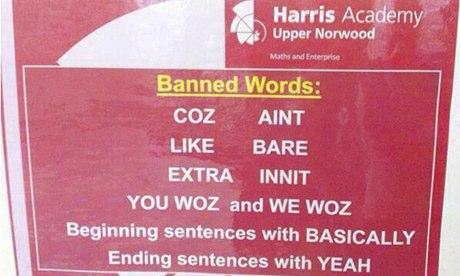 school-ban-slang-words